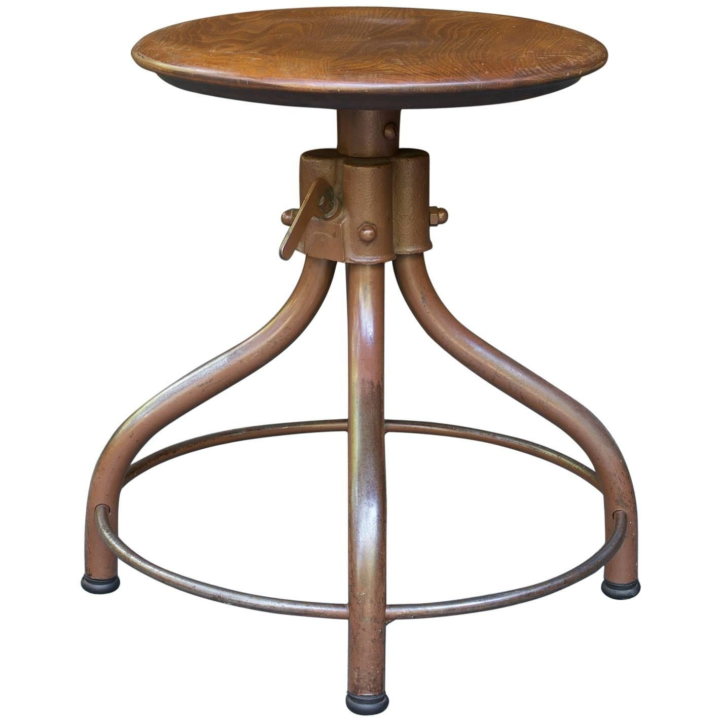 Hamilton Drafting Stool 1  sc 1 st  1stDibs & Hamilton Drafting Stool For Sale at 1stdibs islam-shia.org