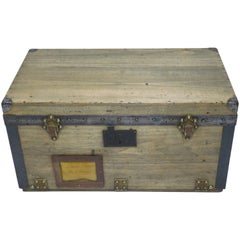 1900s Louis Vuitton Wooden Tool Box