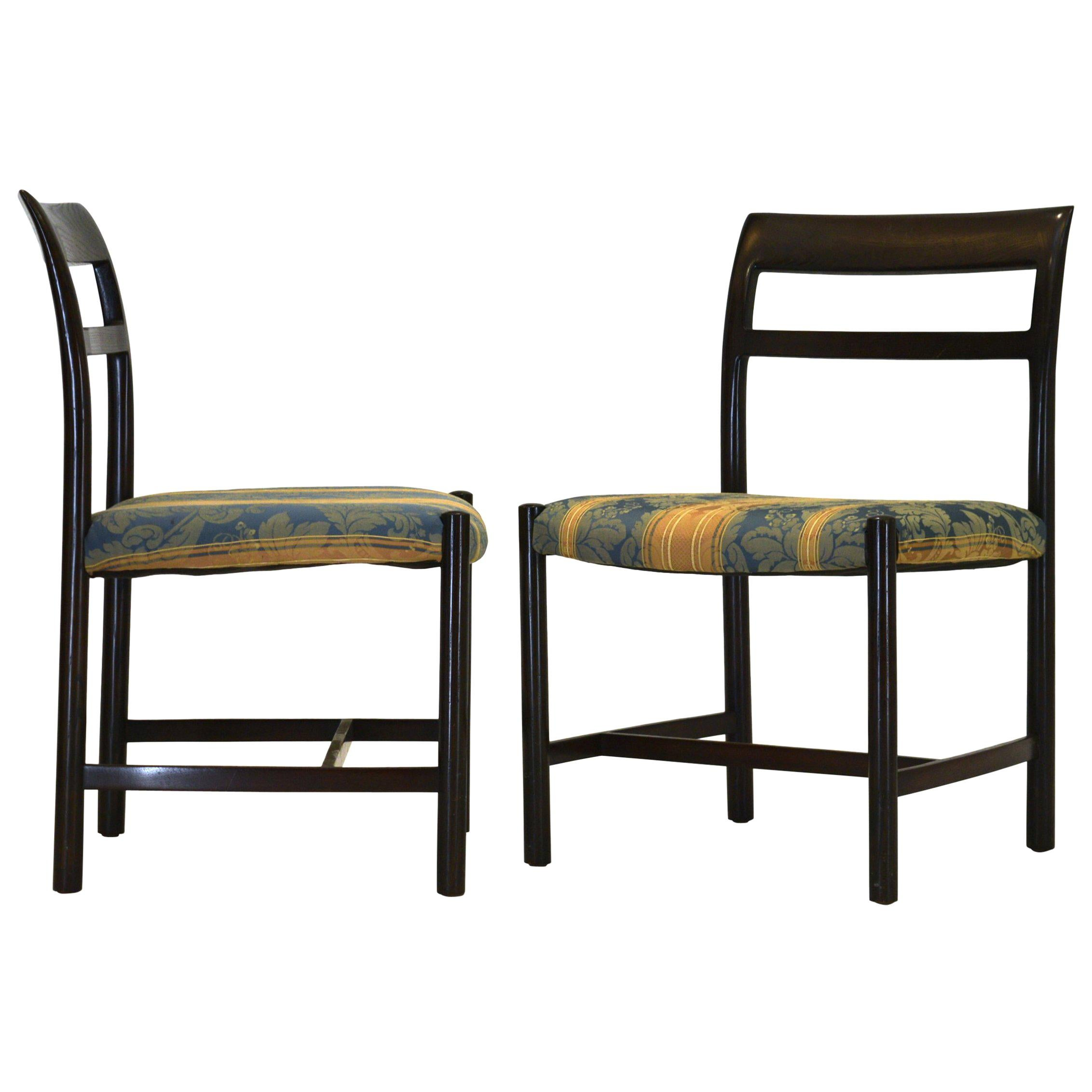 Pair of Large Chairs by Roger Sprunger for Dunbar