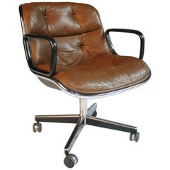 1970s Charles Pollack for Knoll Executive Desk Chair