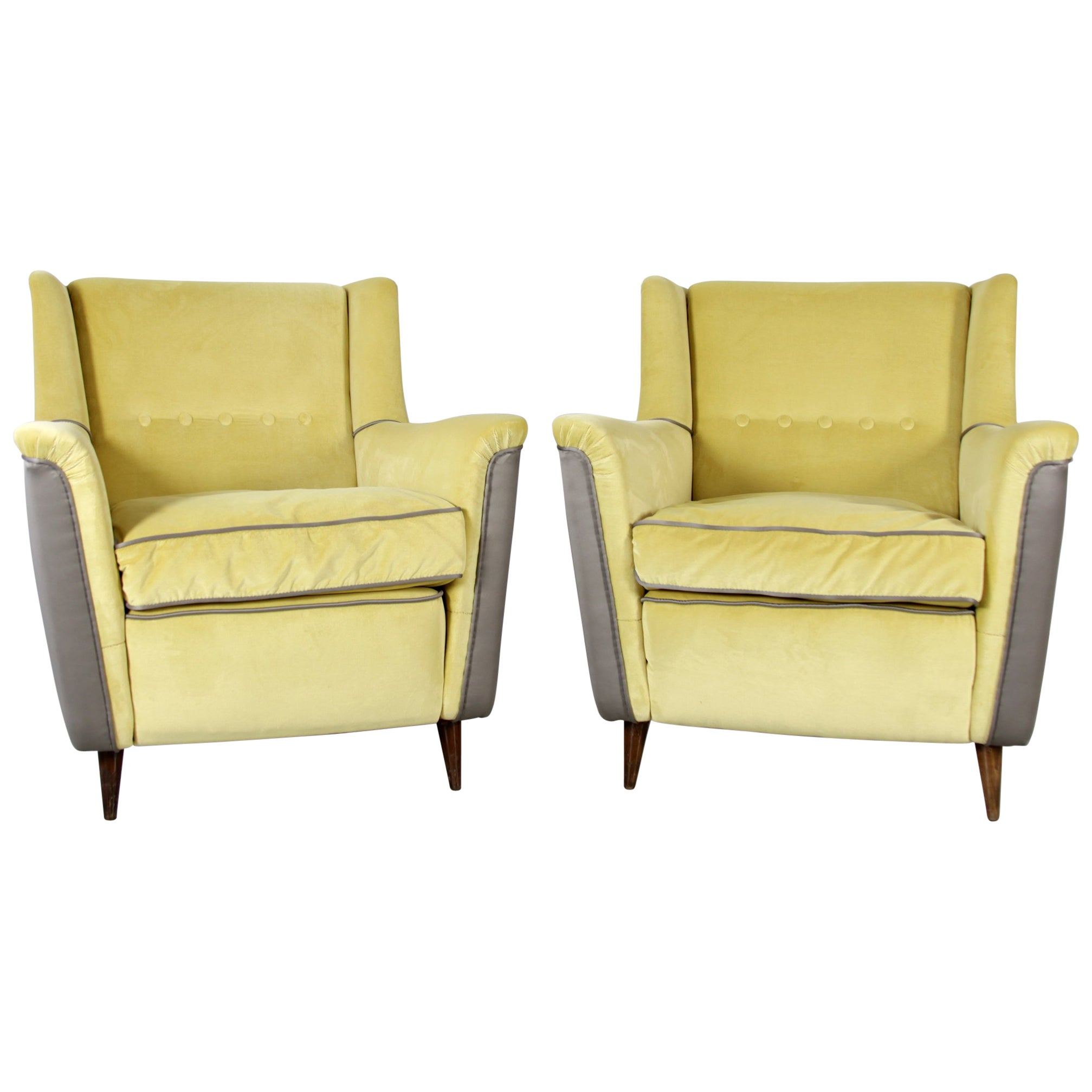 Pair of Cassina Chairs Model 809