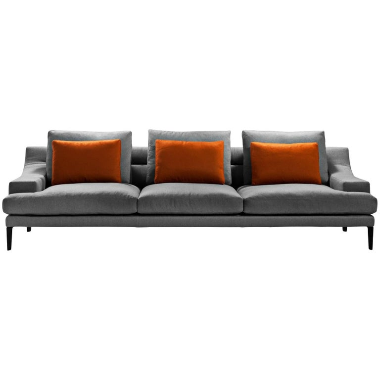 """Megara"" Four-Seat Sofa Designed by Gordon Guillamier for Driade 1"