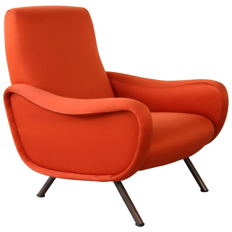 "Early ""Lady"" Armchair from Marco Zanuso for Arflex"