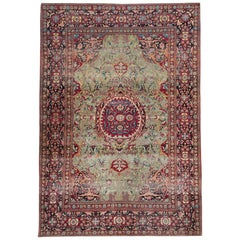Antique Rugs, Persian Rugs from Kashan