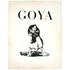 Goya, Drawings from the Prado, First Limited English Edition