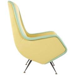 Chairs - Design by Aldo Morbelli for I.S.A. Bergamo, 1950s.