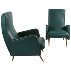 Armchair in Its Original Condition, 1950s, Italy