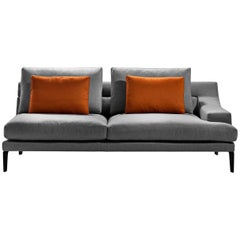 """Megara"" Three-Seat Left or Right Sofa Designed by Gordon Guillamier for Driade"