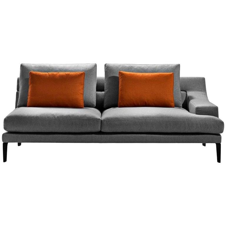 """Megara"" Three-Seat Left or Right Sofa Designed by Gordon Guillamier for Driade"