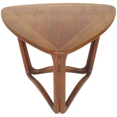 Triangle Side Table by Lane