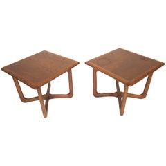 Pair of Lane Vintage Side Tables