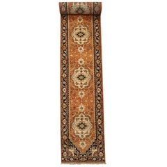 Persian Vegetable Dyed Wool Serapi Runner