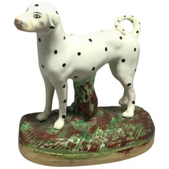 Staffordshire Dalmatian Dog
