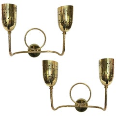 Set of Four French Moderne Sconces