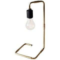 Tribeca Reade Table Lamp by Søren Rose, Metal Lighting in Brass