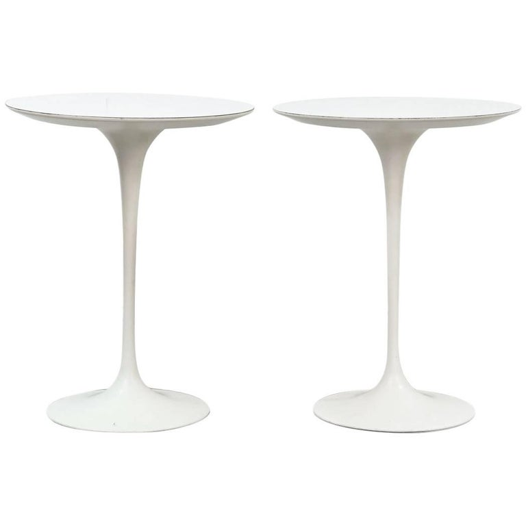 Pair of Eero Saarinen Tulip Side Tables