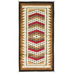 Wonderful Two Grey Hills Navajo Rug