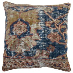 Shabby Chic Persian Sultanabad Rug Pillow