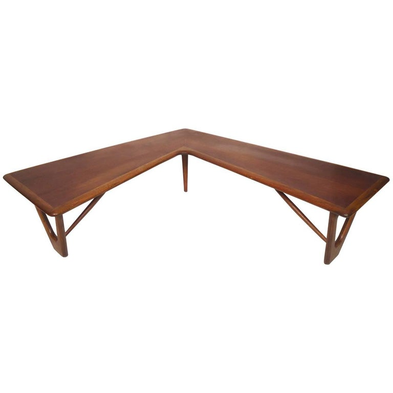 Lane Boomerang Coffee Table: Midcentury Boomerang Table By Lane For Sale At 1stdibs