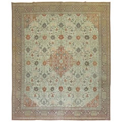 Antique Persian Tabriz Autumn Style Rug