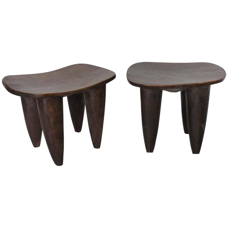 Antique African Senufo Tables or Stools