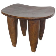 Carved Side Tables or Stools from Mali