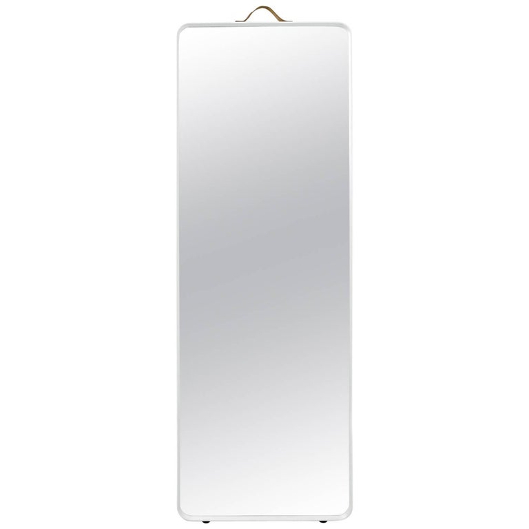 Rectangular Floor Mirror by Norm Architects, in White