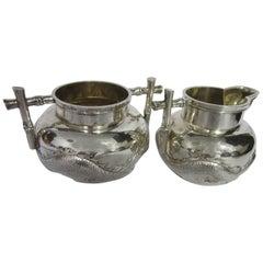 Chinese Export Silver by Wang Hing