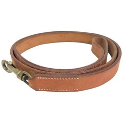 Hermès Leather Dog Leash