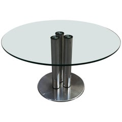 """""""Marcuso"""" 2532 Zanuso Dining Table, Italy, 1970s"""