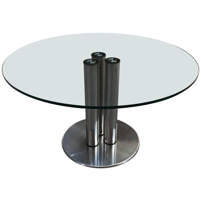 Italian Dining Table from 1970s model Marcuso 2532 by Zanuso