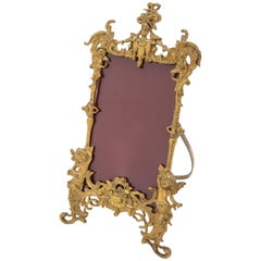 Victorian Gilt Brass Photo Frame, circa 1890