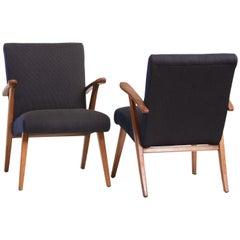 Pair of Danish Easy Chairs, 1940s
