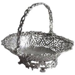 Early George III Cast Sweetmeat Basket