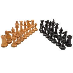Victorian Staunton Style Chess Set, circa 1890
