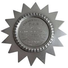 Fourteen Point Star Badge