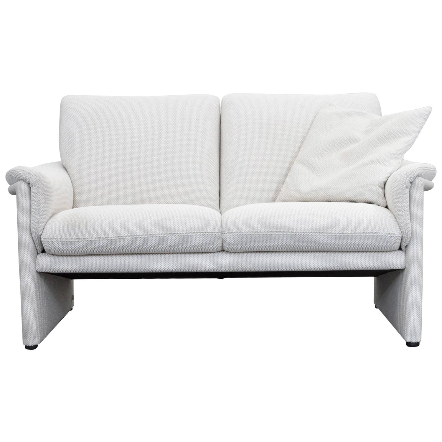 Cor furniture 34 for sale at 1stdibs cor zento designer sofa fabric crme white two seat couch modern parisarafo Image collections