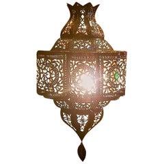 Moroccan Metal Lantern, Bal Style