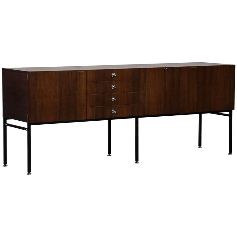Rare alain richard large sideboard for meuble tv 1950s for Meuble for french furniture