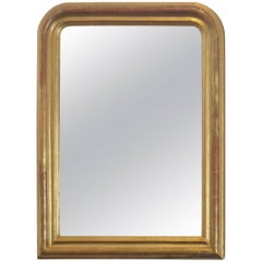 24-Karat Gold Leafed Louis Philippe Mirror