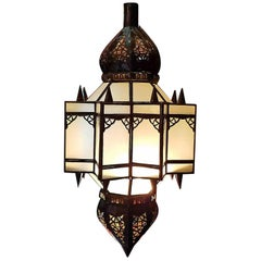 Moroccan Glass Lantern, Makki Style