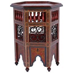Exotic Moroccan Drink Stand or Side Table