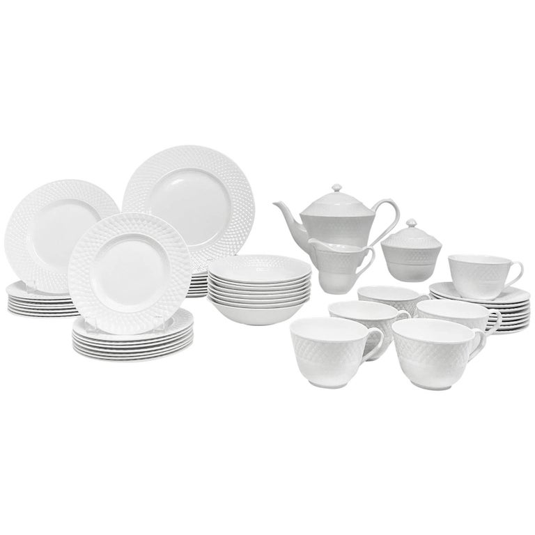 Spode Mansard Pattern Bone China, 49-Piece