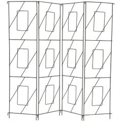 Frederic/Frederick Weinberg Four-Panel Iron Screen