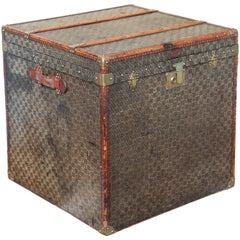 Superior Louis Vuitton Style Antique Trunk
