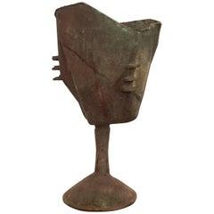 Unique Paolo Soleri Bronze Sculptural Vessel
