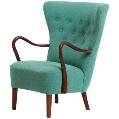 Danish Lounge Chair, 1950s