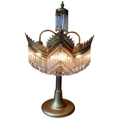 Beautiful French 1920s Table Lamp
