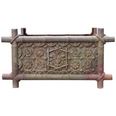 Late 19th Century Antique Cast Iron Planter