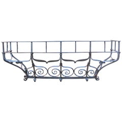Antique Wrought Iron Balcony